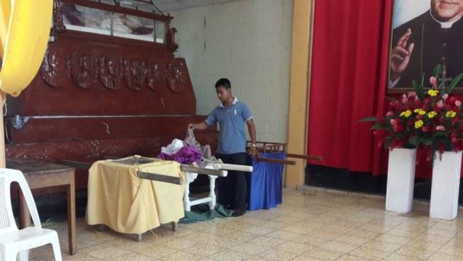 Delincuentes roban imagen en iglesia El Calvario de Apastepeque