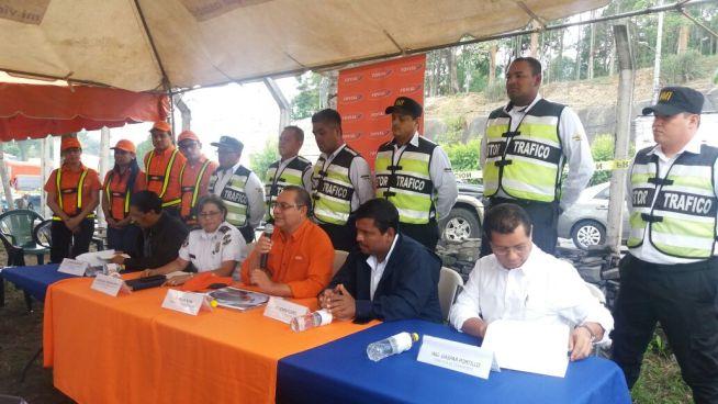 Autoridades de Tránsito presentan plan de obras y manejo de tráfico en zona Rancho Navarra