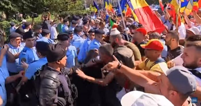 Más de 400 heridos en manifestaciones antigubernamentales en Rumanía