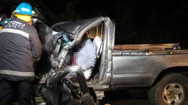 Un muerto y varios lesionados tras accidente de tránsito en San Miguel