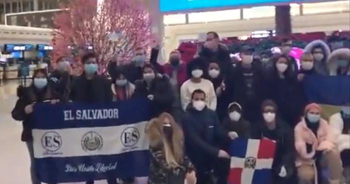 """Becarias salvadoreñas son evacuadas de Wuhan, epicentro del """"Coronavirus"""""""