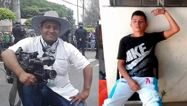 Investigan a presunto homicida de camarógrafo del canal 21, Samuel Rivas