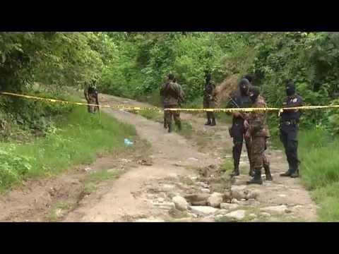 2 escenas de homicidio en diferentes cantones de San Pedro Perulapán