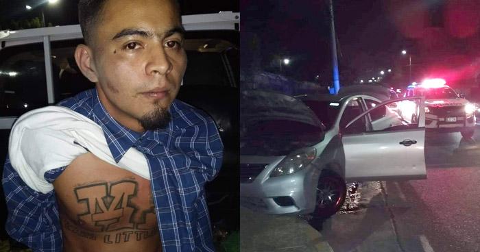 Frustran secuestro de conductor en Soyapango y capturan a pandillero