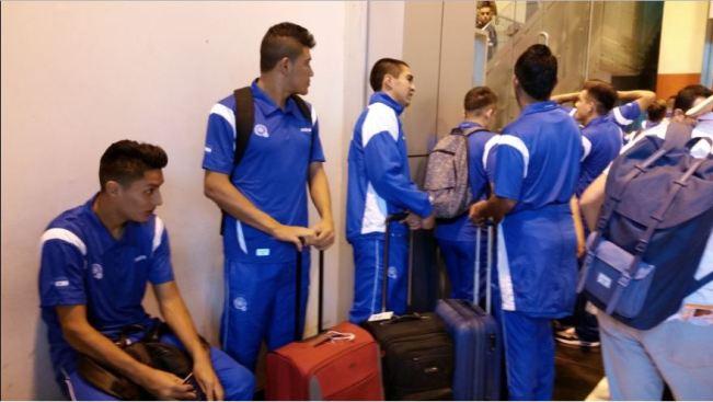La Selecta viajo a EE.UU. para el amistoso contra Honduras