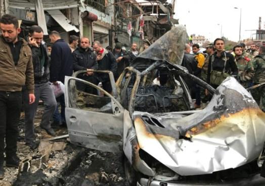11 muertos y 20 heridos al explotar un artefacto en el sur de Siria