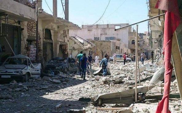 Ataque suicida deja más de 40 fallecidos en Siria