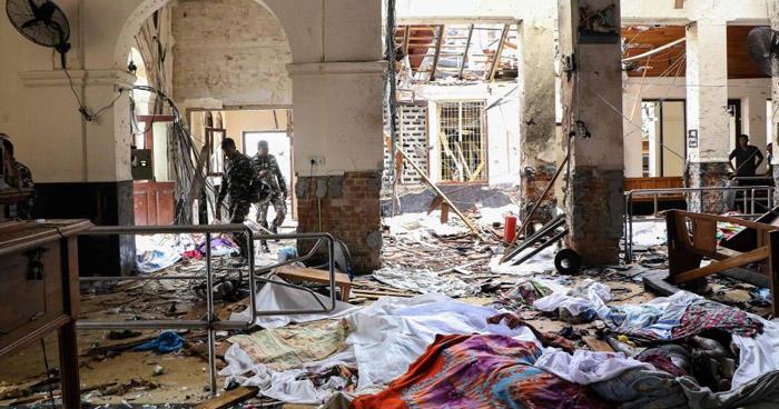 Más de 200 muertos dejó una sucesión de explosiones en iglesias cristianas en Sri Lanka