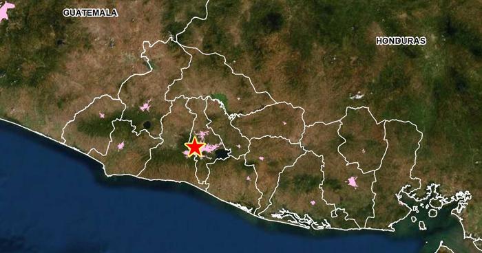 Sismo de 3.1 en San Salvador sacudió parte del país esta mañana