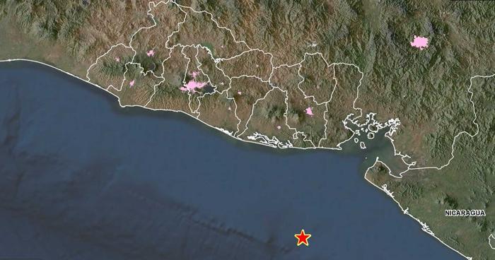 Dos sismos se registraron este viernes frente a la costa de Usulután