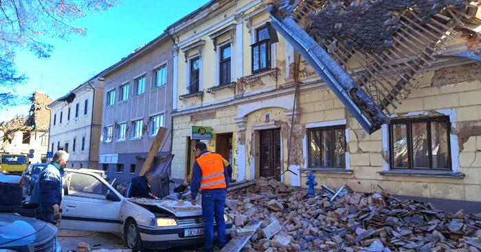Una niña fallecida y decenas de heridos tras terremoto de 6.3 en Croacia