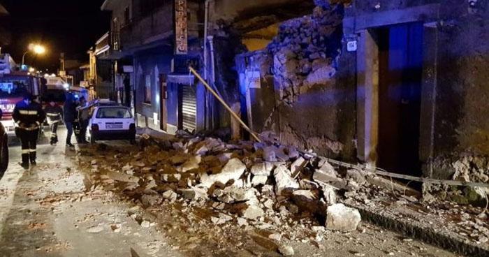 Más de 10 lesionados tras sismo de 5.1 grados en ciudad de Italia