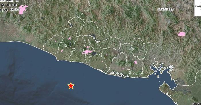 Dos sismos sacudieron parte del país esta noche