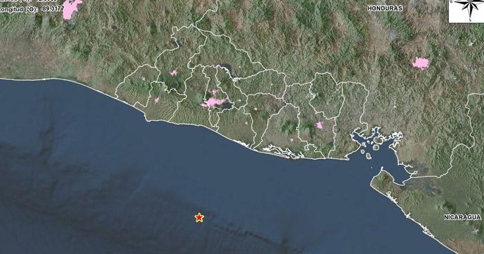 Sismo de 4.0 sacudió esta noche a la zona costera del departamento de La Paz