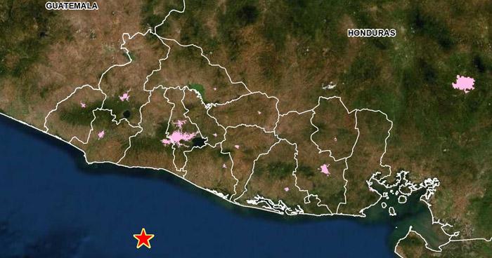Sismo de 4.1 sacudió esta mañana la costa de La Libertad