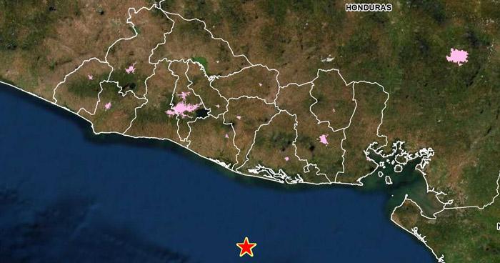 Sismo de 3,5 sacudió esta madrugada la costa de Usulután
