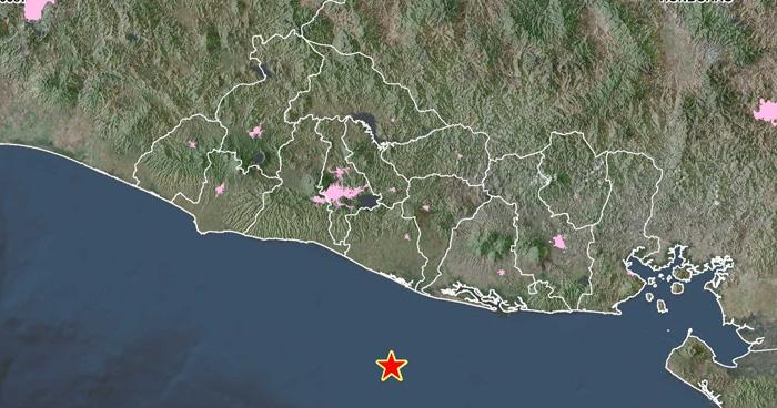 Sismo de 4.5 en la costa de La Paz sacude parte del país este mediodía
