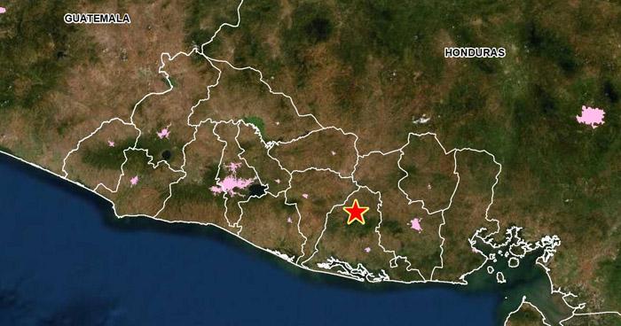 Sismo sacudió esta tarde el municipio de Mercedes Umaña