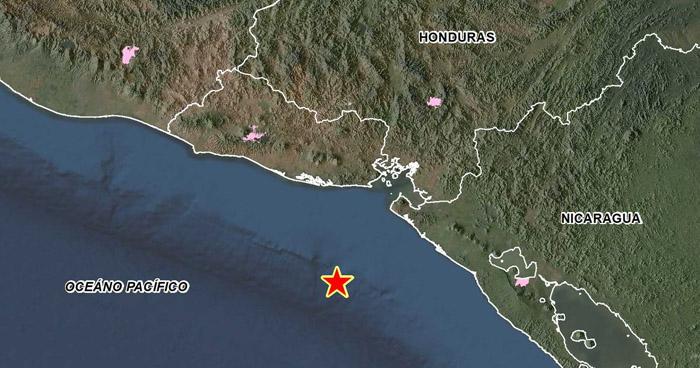Sismo de 4.3 sacudió esta tarde la costa en el oriente del país