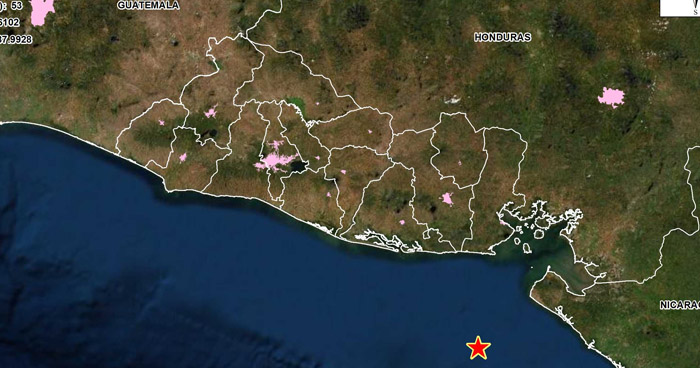 Sismo de 4.0 sacudió esta tarde parte del oriente del país