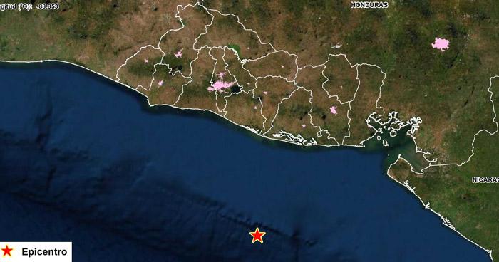 Sismo de 4.3 sacudió este sábado parte del oriente del país