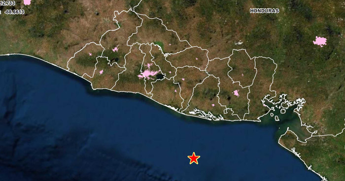 Sismo de 3.7 sacudió este sábado parte del oriente del país