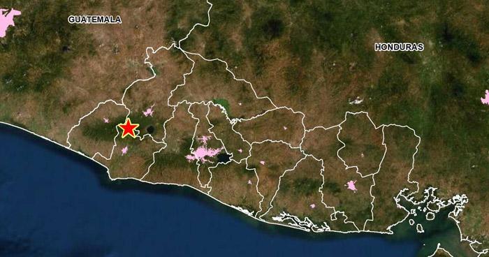 Sismo sacudió esta tarde parte del occidente del país