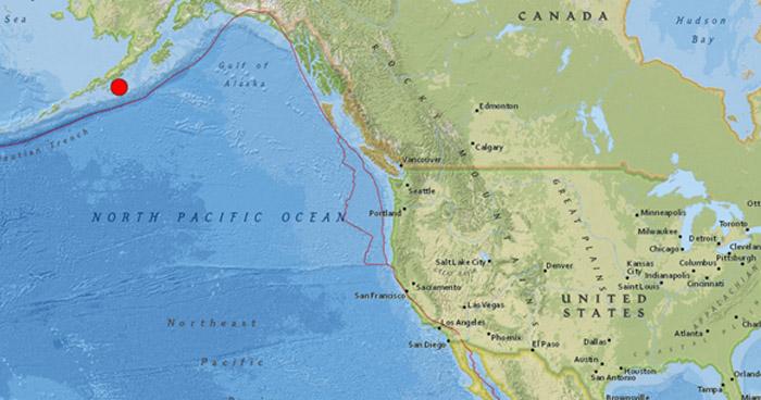 Terremoto de 7.8 en Alaska: No existe amenaza de tsunami para El Salvador