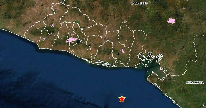 Sismo de 4.1 sacudió esta viernes la costa de Usulután