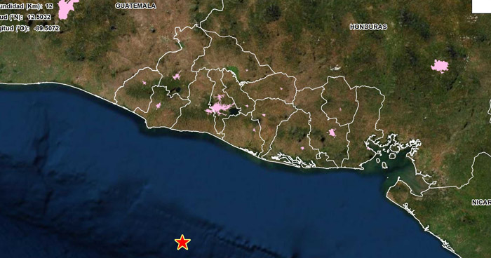Sismo de 4.4 sacudió esta mañana la costa de La Libertad