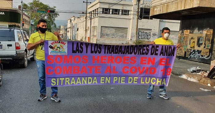 Sindicalistas exigen la aprobación de la prórroga del Estado de Emergencia