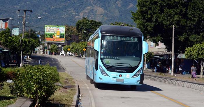 VMT restringirá nuevamente el transito de vehículos en el carril del SITRAMSS