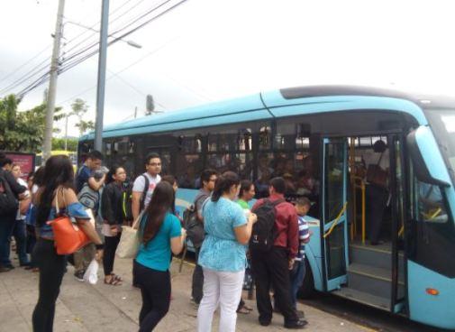 Hoy a las 3 de la tarde habrá concentración en estación Sitramss Soyapango