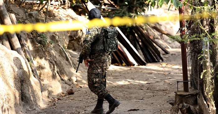 Pandilleros asesinan a un soldado cerca de su vivienda en Santiago Nonualco, La Paz