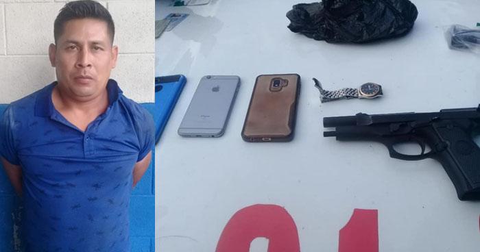 Prisión preventiva para soldado capturado por robo a mano armada en San Salvador