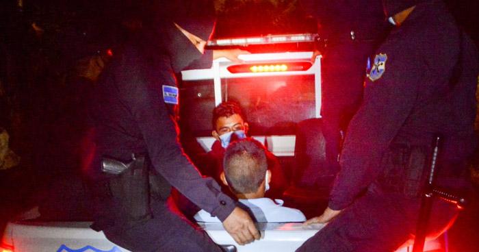 Miembros de la MS-13 y 18 capturados durante operativo en Sonsonate
