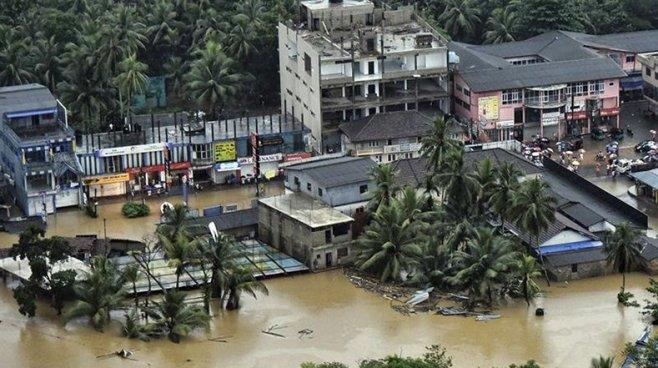 Aumenta a 146 personas el número de fallecidos en Sri Lanka por severas inundaciones