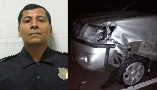 Arresto domiciliario para subcomisionado que atropelló a dos motociclistas