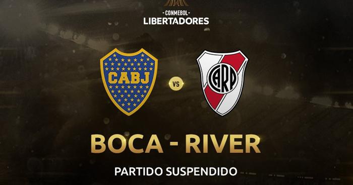 Suspenden final de la Copa Libertadores: Boca Juniors vs River Plate por lluvia