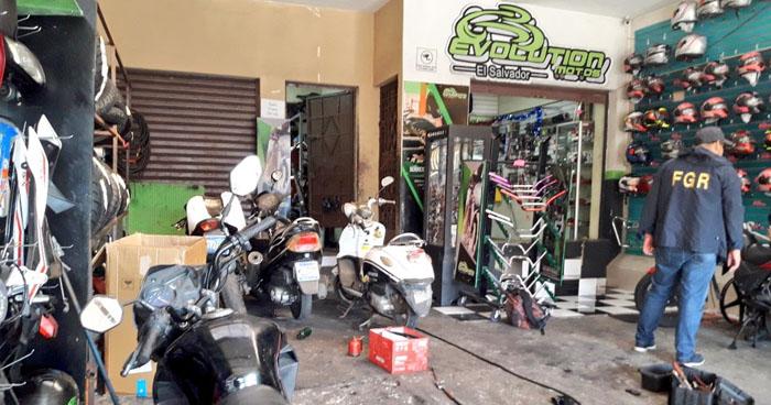 Hallan talleres donde comercializaban motocicletas robadas y hurtadas