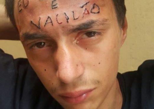 VIDEO | Ladrón ingresa a robar a un estudio de tatuajes y termino con uno en la cara