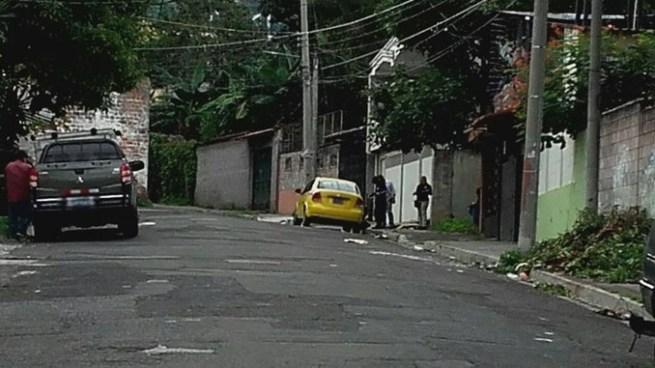 Matan a balazos a un taxista en bulevar Constitución, San Salvador