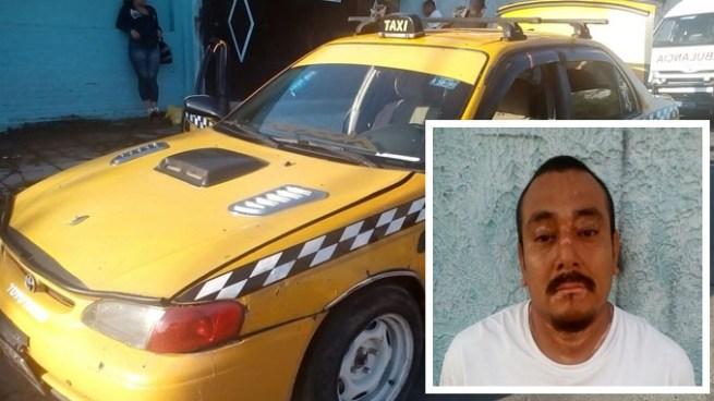 Capturan a taxista por participar en un asalto hacia una mujer en San Salvador