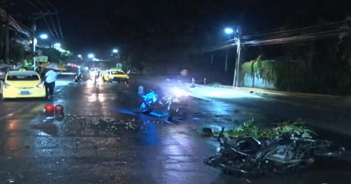 Motociclistas ebrios huyeron tras provocar accidentes en Ilopango