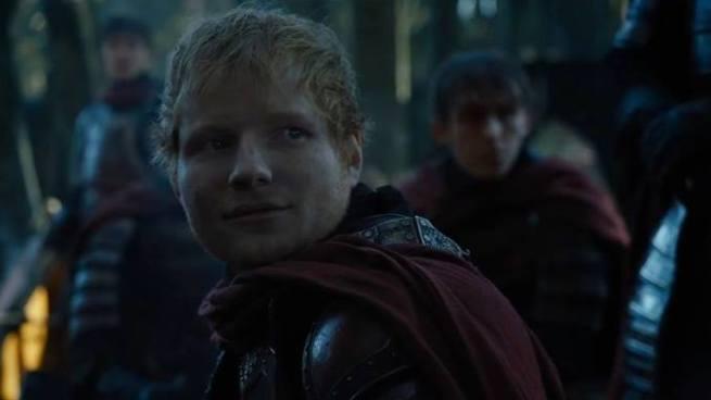 """Ed Sheeran participa en la séptima temporada de """"Game of Throne"""""""