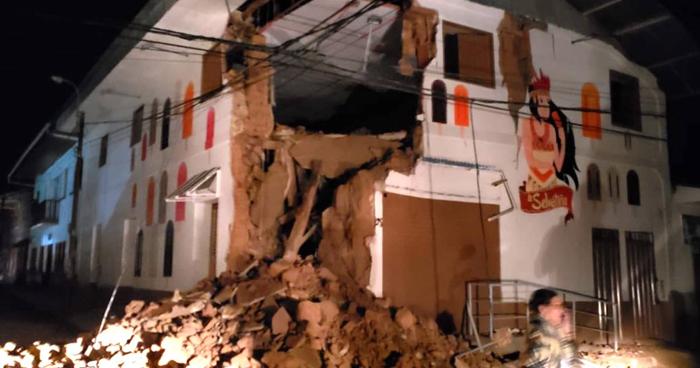 Terremoto de 7.5 alertó a Perú esta madrugada de domingo