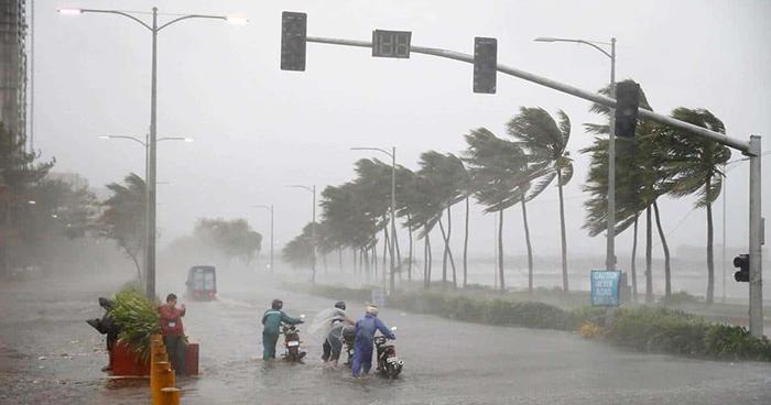 China activa Alerta Roja por llegada de tifón Lekima