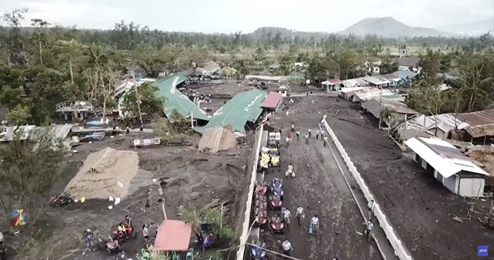 Muerte y destrucción tras paso de tifón Goni en Filipinas