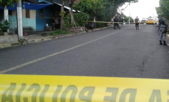 Capturan a cuatro pandilleros vinculados al homicidio en El Arenal