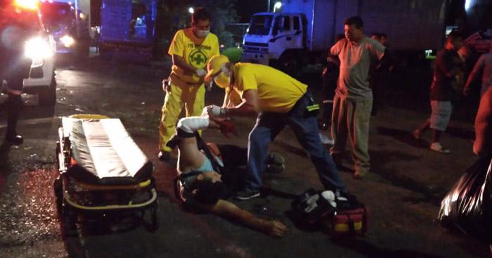 Dos lesionados tras tiroteo en San Salvador